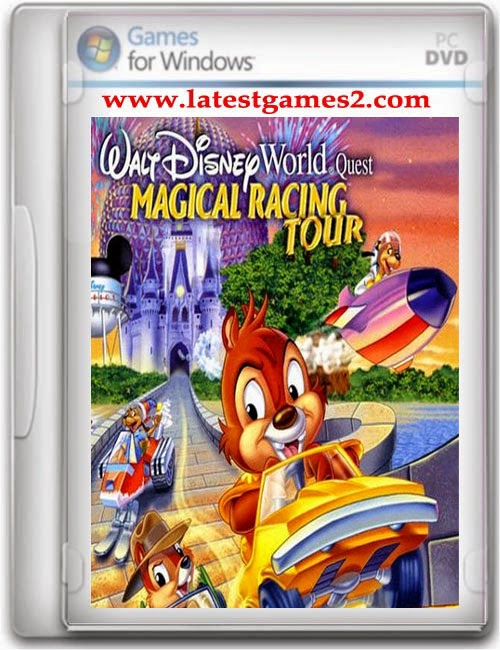 Free Download Walt Disney World Quest Magical Racing Tour Game PC Game