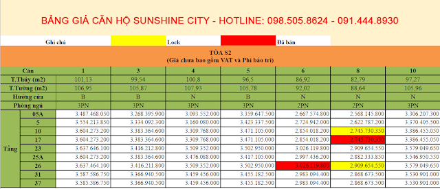 Chung cư Sunshine City Ciputra Tây Hồ, Khu đô thị Ciputra Tây Hồ Hà Nội,