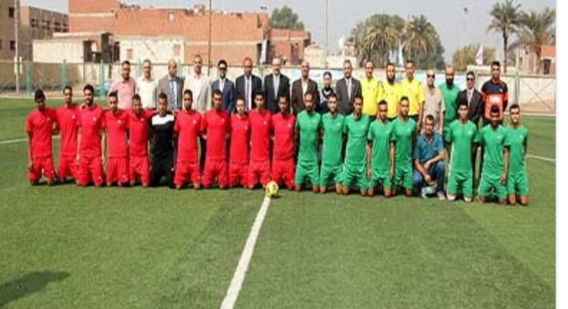 محافظ بني سويف يفتتح دوري مراكز الشباب في نسخته الرابعة.