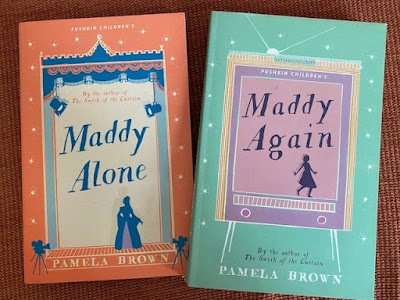Maddy Again and Maddy Alone by Pamela Brown paperback books