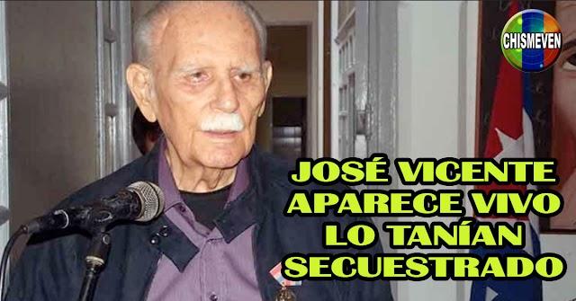 José Vicente Rangel entrevistado en directo informando que no ha muerto