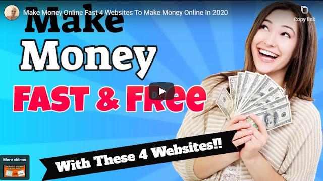 Make Money Online Fast 4 Websites To Make Money Online In 2020