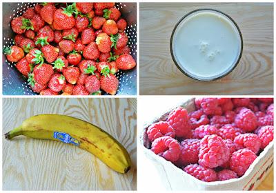 Koktajl owocowy - składniki