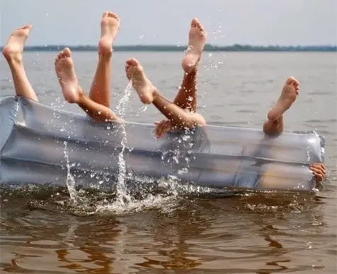 It's more fun on the water