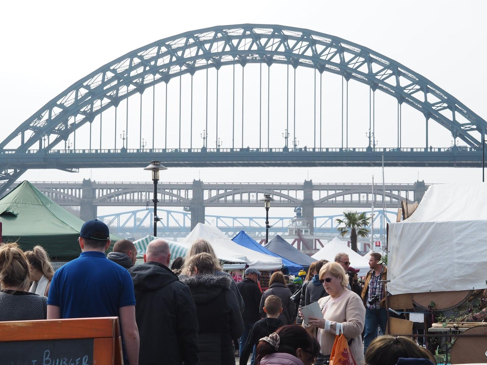 newcastle quayside street food market
