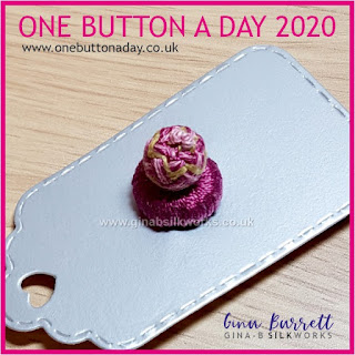 One Button a Day 2020 by Gina Barrett - Day 115 : Thingamajig