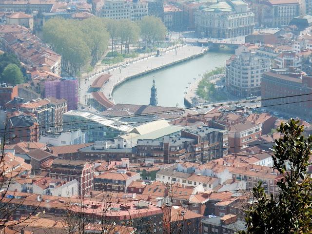 Río Nervión, Mirador Artxanda, Bilbao, España, Elisa N, Blog de Viajes, Lifestyle, Travel