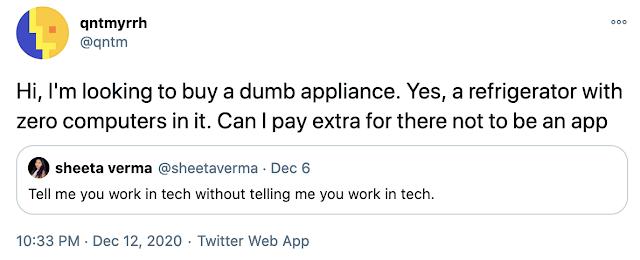 screenshot of tweet