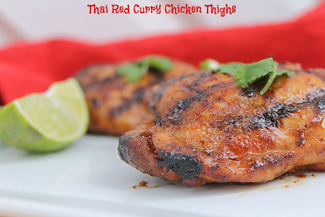 Thai Red Curry Chicken Thighs