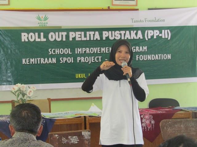 Evaluasi Fungsi Pustaka & Tingkatkan Minat Baca Siswa Di Sekolah. SPOI Project Tanoto Foundation Kembali Latih Puluhan Guru & Staf Pustaka.