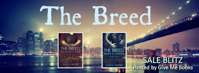 Sale Blitz for The Breed Series by Alice K. Wayne with Giveaway!!