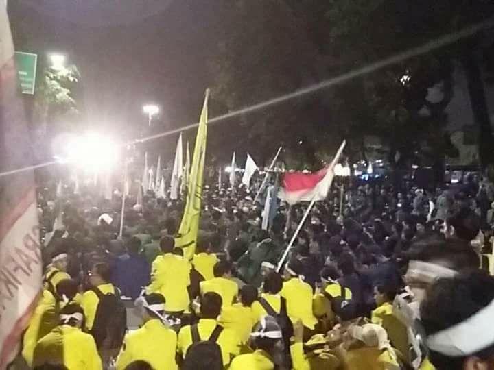 BEM Se-Indonesia Kecam Aparat yang Semakin Brutal dan Represif