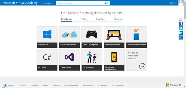 Microsoft Virtual Academy (MVA)
