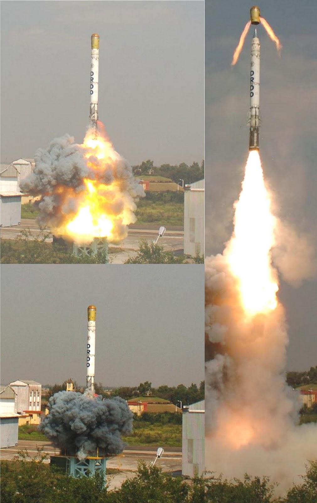 Shaurya Missile Test
