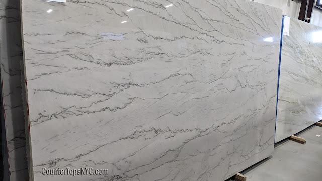 Calacatta Taupe Natural Stone Quartzite Slab NYC