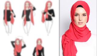 لفات حجاب 2017 , لفات طرح للمحجبات , طرق لف الحجاب بالصور