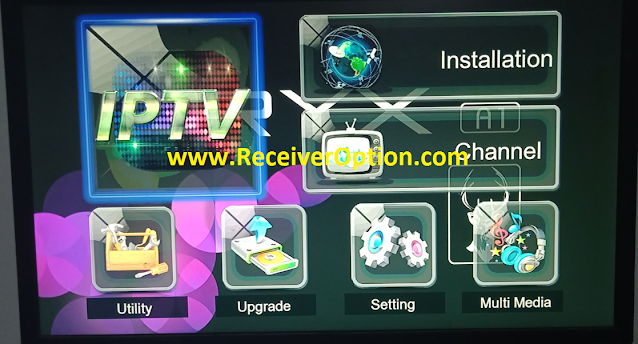ORYX A1 1507G 1G 8M NEW SOFTWARE WITH HAHA IPTV & FACEBOOK LIVE OPTION