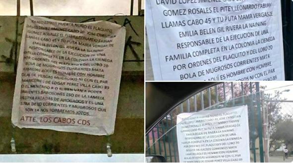 El Cártel de Sinaloa amenaza en Narcomantas al Cártel de Tijuana, tras liberación de Eduardo Arellano Félix