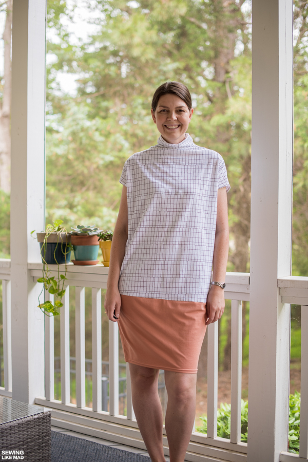 Sewing Like Mad Modified Cher Knit Dress By Style Arc Patterns