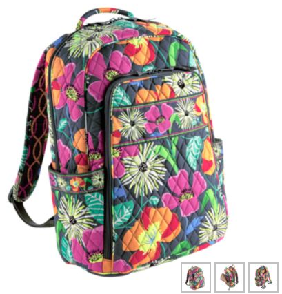 bc5ac324a8a The Laptop Backpack ( 109) This is the backpack I use for school. My bag is  not this jazzy blooms color, but if I were to get a new one, today, ...