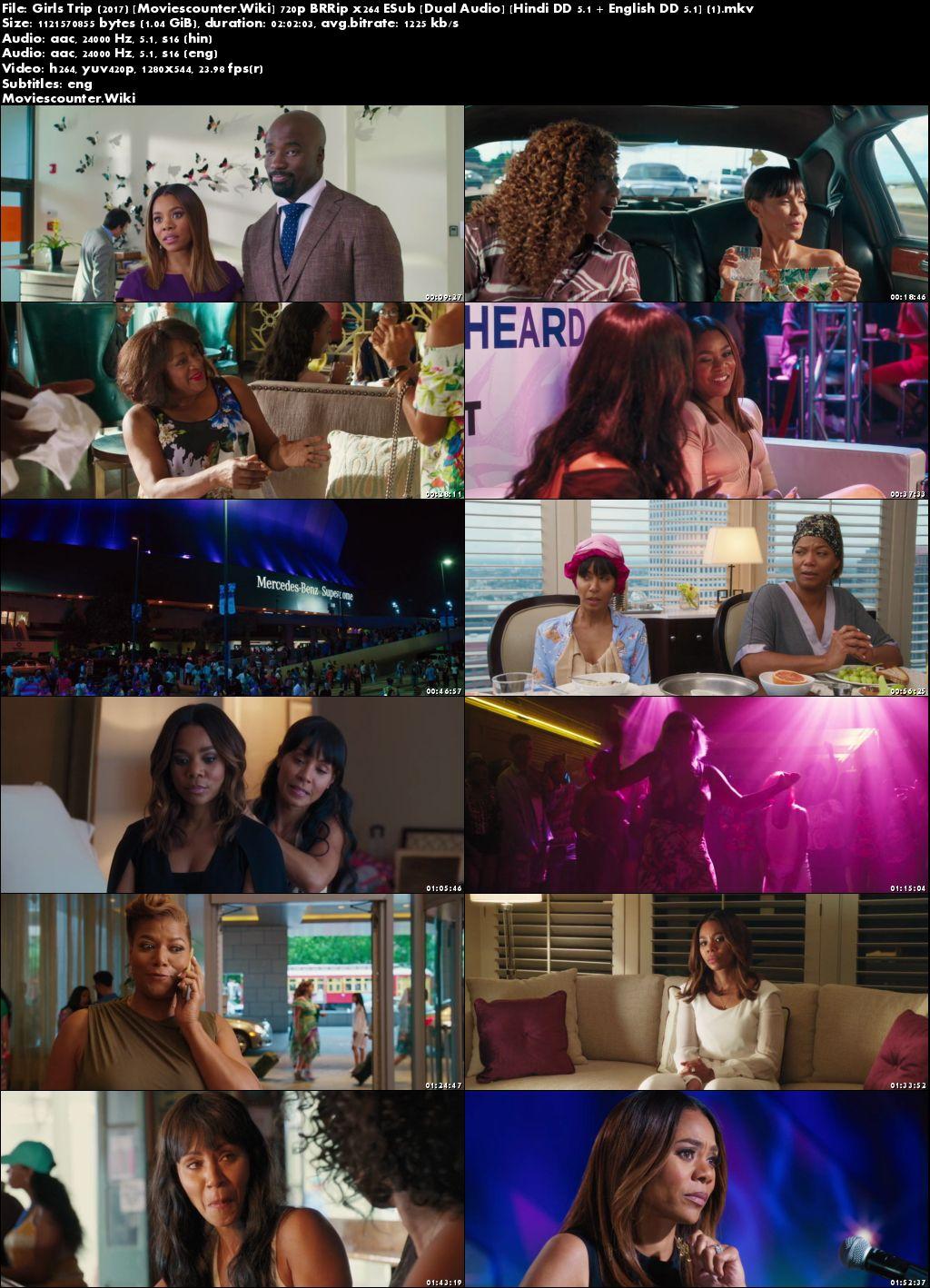 Screen Shots Girls Trip 2017 Dual Audio HD 720p