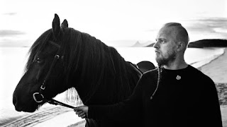 Einar Selvik from Wardruna interprets the rune Tyr in Ragnarok,  the third album in the Runaljod trilogy.