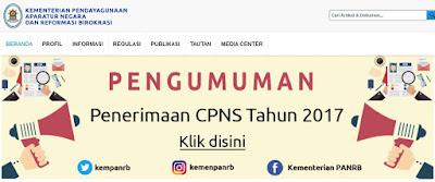Rekrutmen CPNS 2017