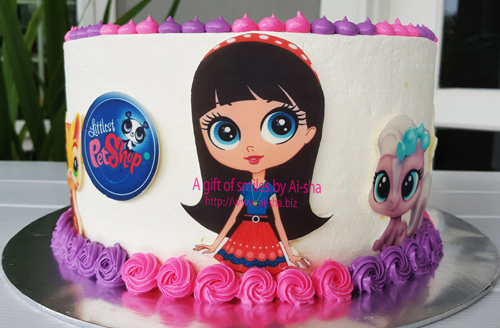 Birthday cake Littlest Pet Shop