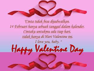 Kata-kata hari Valentine paling indah - kanalmu