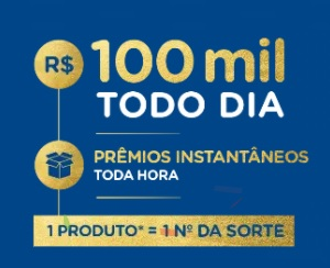 Promoção 100 mil reais todo dia Nestlé produtos