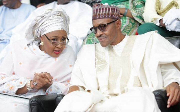 President Buhari reacts to Aisha Buhari's outburst: She belongs to my kitchen