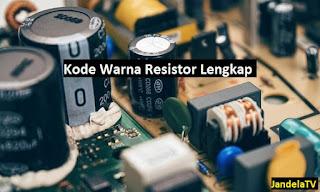 memang banyak belum yang paham khususnya cara membaca setiap warna tersebut Kode Warna Resistor dan Cara Menghitung Yang Benar