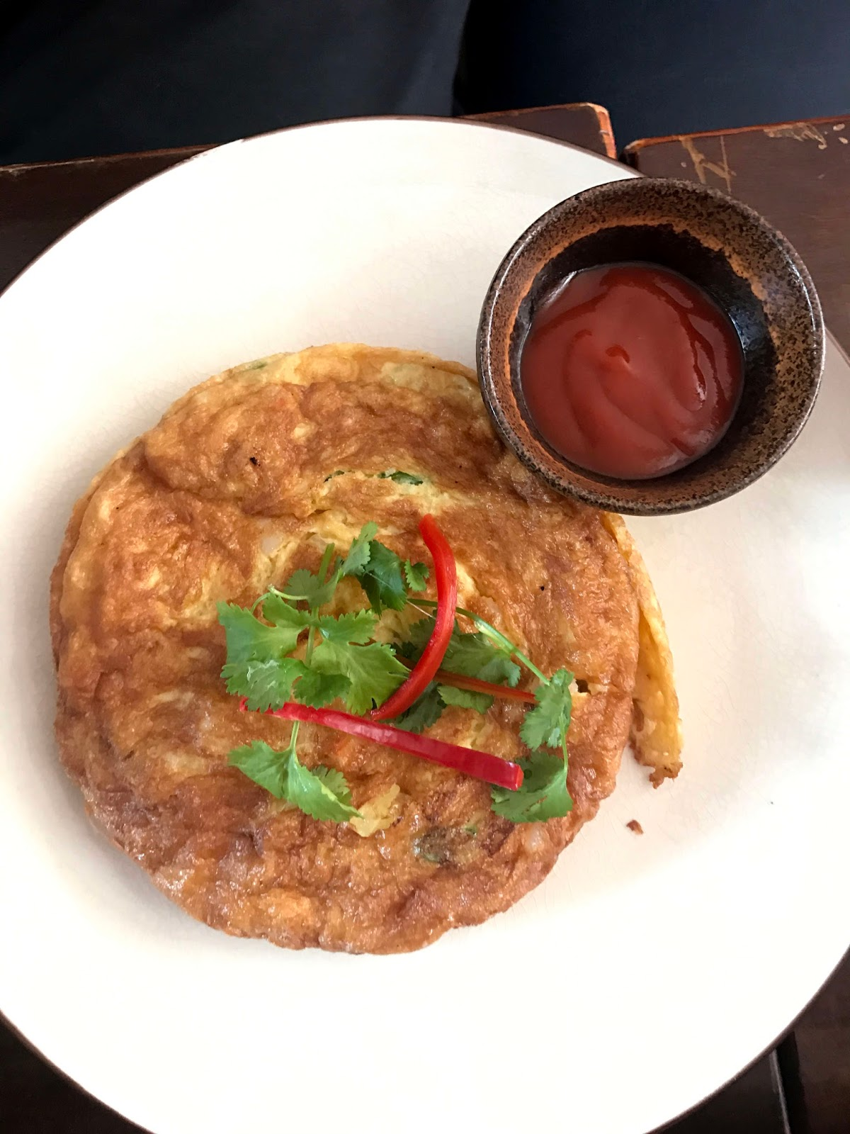 Stitch & Bear - Nightmarket -  Thai omelette