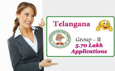 TSPSC - 5.70 lakh Applications For Group-2