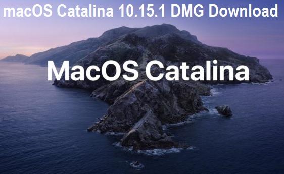 Download macOS Catalina 10.15.1 DMG Final
