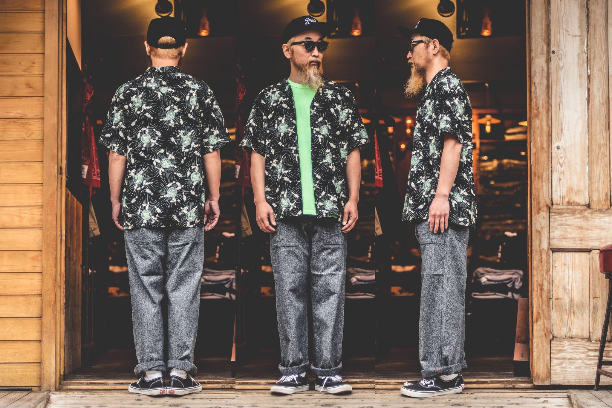 スターオブハリウッド ボーリングシャツ アロハシャツ オープンカラーシャツ フィフティーズシャツ