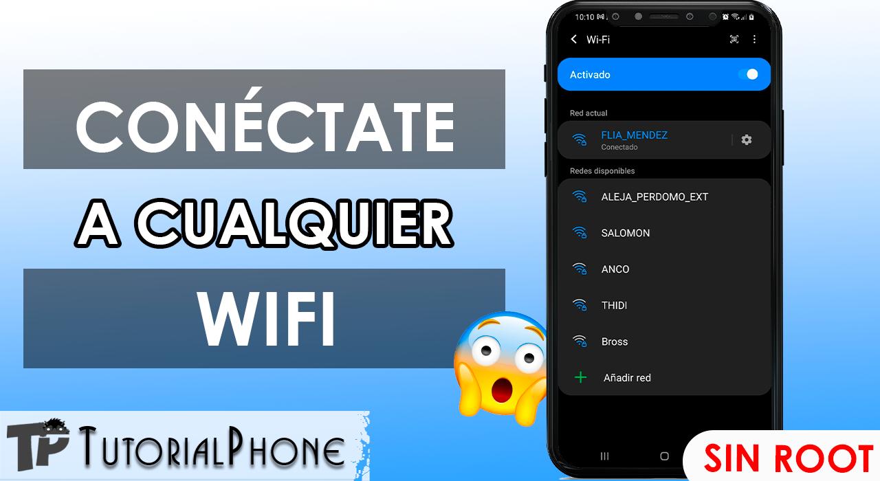 como conectarme a WiFi con código QR