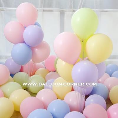 Balon Latex Macaron (NEW PRODUCT)
