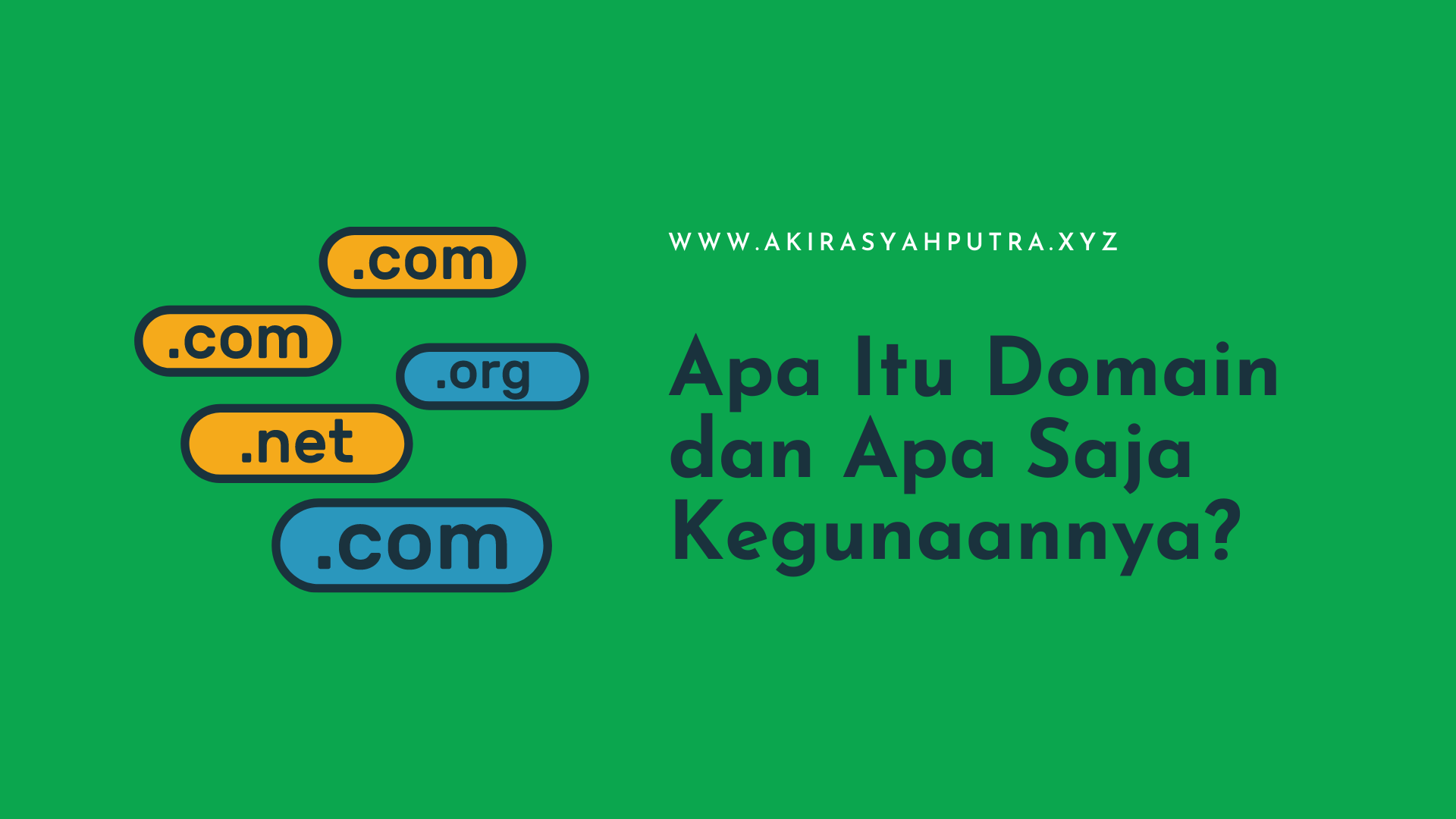 Apa Itu Domain dan Apa Saja Kegunaannya?