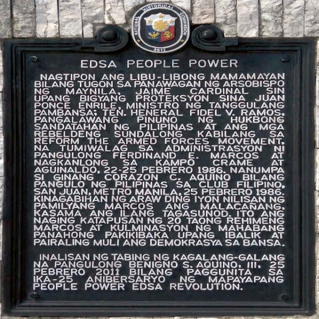 edsa people power marker