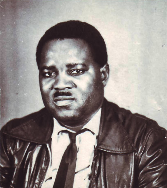 My father, Lt. Col. Martin Eros Kapembe
