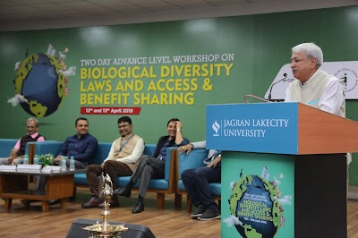 """JLU Hosts Two-Day Advance Level Workshop on """"Biodiversity Law and ABS"""
