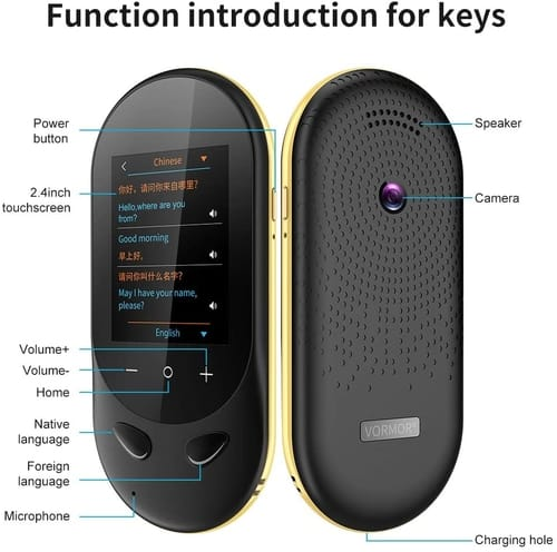 Review MORTENTR Language Translator Device
