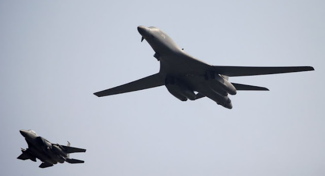 Two U.S. Bombers Conducts  Live-Fire Drills With South Korean Forces north korea, south korea, us bombers, military, jet, technology, technews, tech,