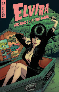 Elvira: Mistress of the Dark #12 Cover B from Dynamite Entertainment