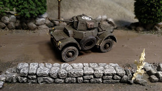 British 11th Armoured Division Daimler MK1
