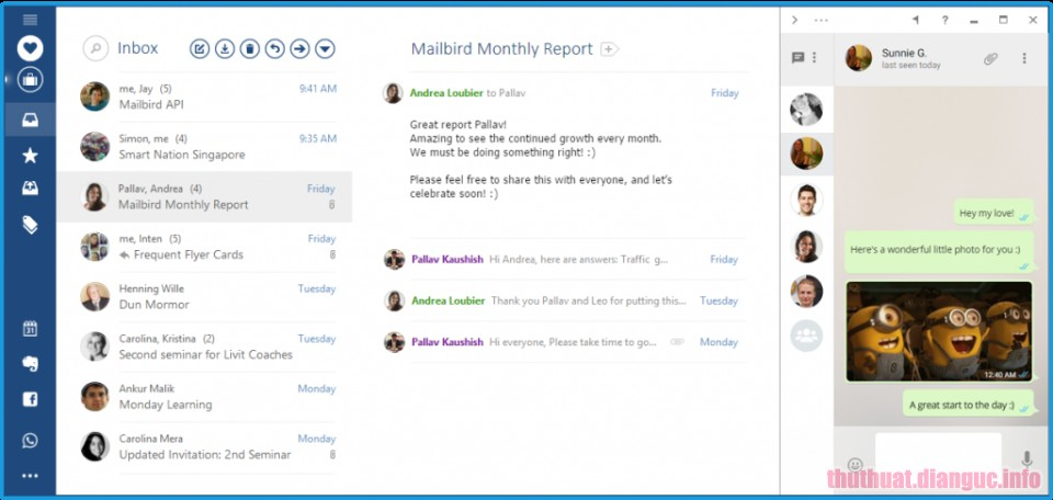 Download Mailbird Pro 2.5.48.0 Full Crack