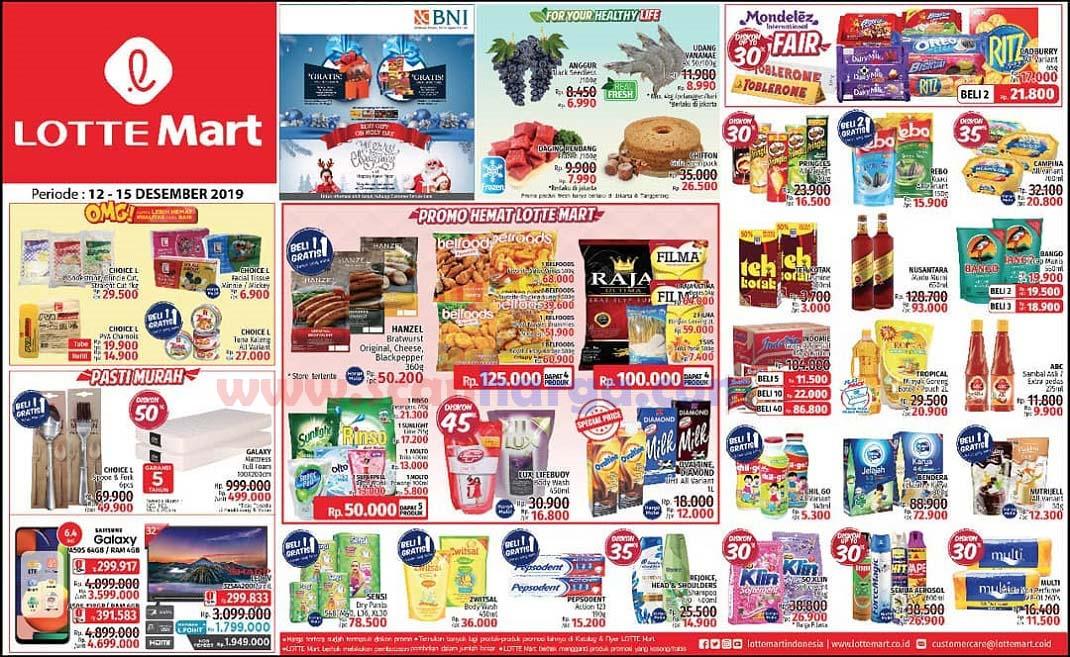 Katalog Promo Lottemart Weekend 12 - 15 Desember 2019