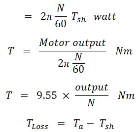 Torque Equation of a DC Motor