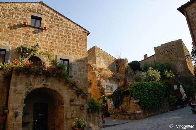 La splendida Civita di Bagnoregio ed il suo centro medievale